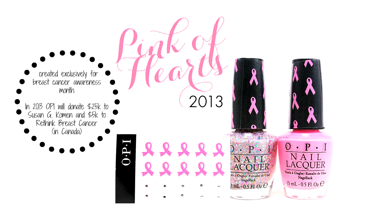 OPI's Limited Edition 'Pink of Hearts' BCA Nail Kit, SRP $16