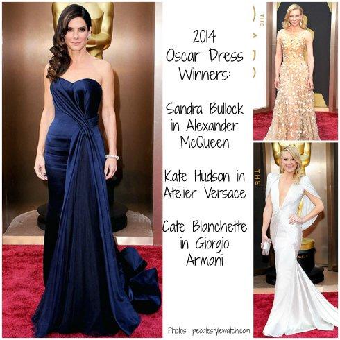 2014 Oscar Dresses - Red Carpet Winners